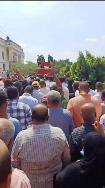 تشييع جنازة أمين الشرطة عبد المجيد حربى (5)