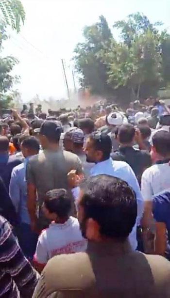 تشييع جنازة أمين الشرطة عبد المجيد حربى (7)