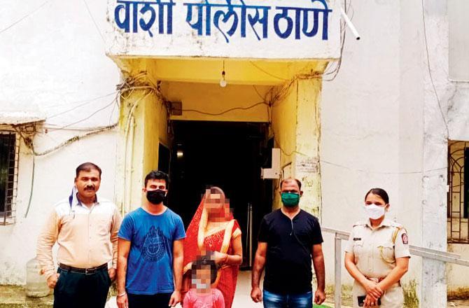 الرجل الهندى مع عائلته