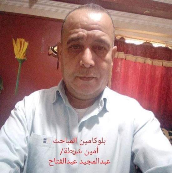 تشييع جنازة أمين الشرطة عبد المجيد حربى (1)