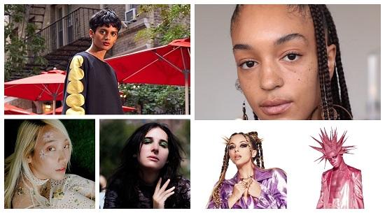 إطلالات الشعر والمكياج بأسبوع الموضة في نيويورك