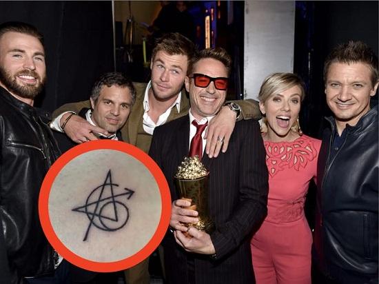 الممثلين الأصليين لفيلم The Avengers