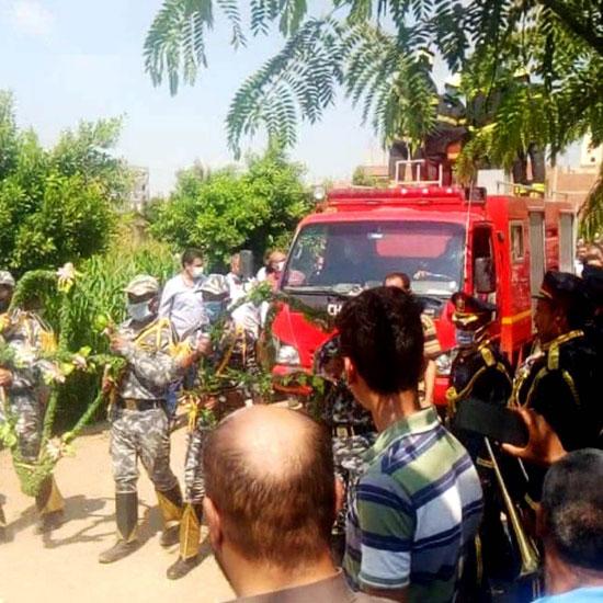 تشييع جنازة أمين الشرطة عبد المجيد حربى (6)