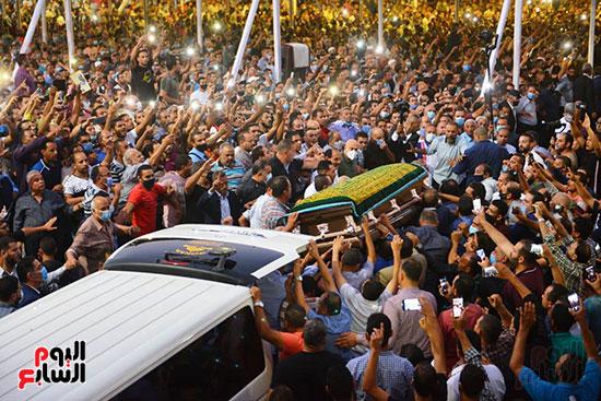 جثمان محمد فريد خميس يصل العاشر من رمضان