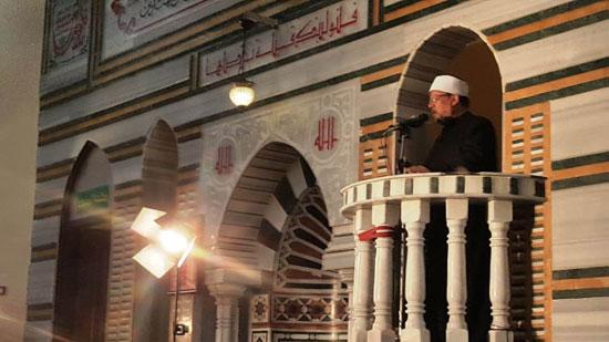 خطبة وزير الأوقاف خلال افتتاح مسجد التقوى (2)