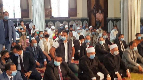 خطبة وزير الأوقاف خلال افتتاح مسجد التقوى (3)