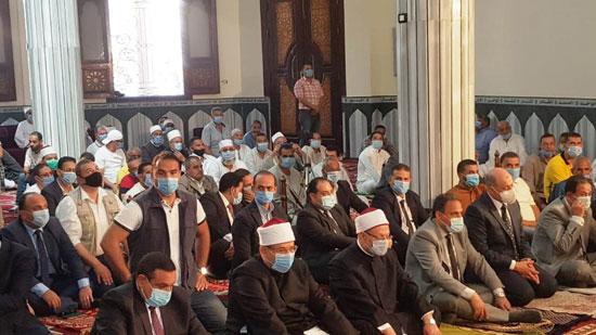 خطبة وزير الأوقاف خلال افتتاح مسجد التقوى (7)