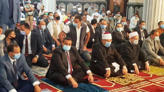 خطبة وزير الأوقاف خلال افتتاح مسجد التقوى (4)