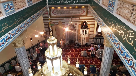 خطبة وزير الأوقاف خلال افتتاح مسجد التقوى (1)