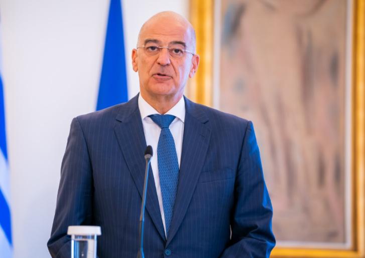 نيكوس دندياس وزير خارجية اليونان