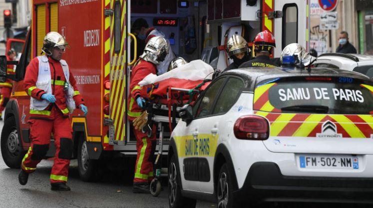 سيارات الشرطة والأسعاف