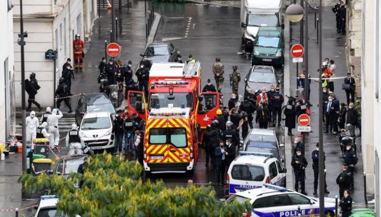 الشرطة الفرنسية في محيط الهجوم