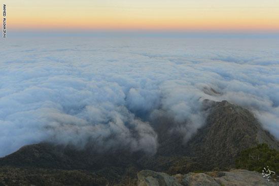 مشاهد من أعلى جبال السروات في السعودية