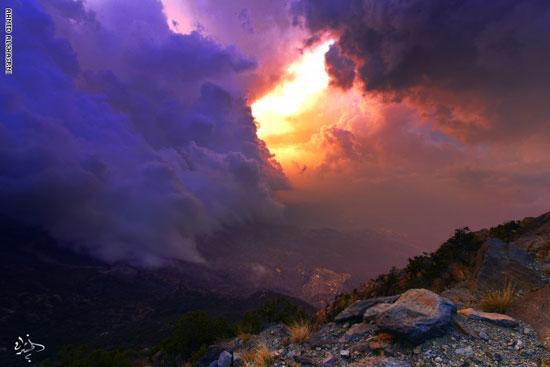 الطبيعة الجبلية الساحرة