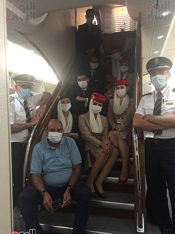 اليوم السابع على متن أكبر طائرة ركاب فى العالم (3)