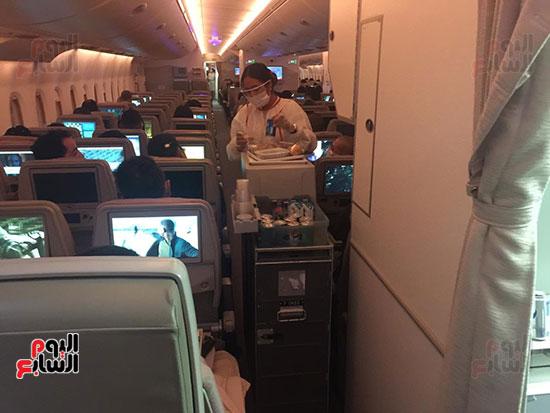 اليوم السابع على متن أكبر طائرة ركاب فى العالم (2)