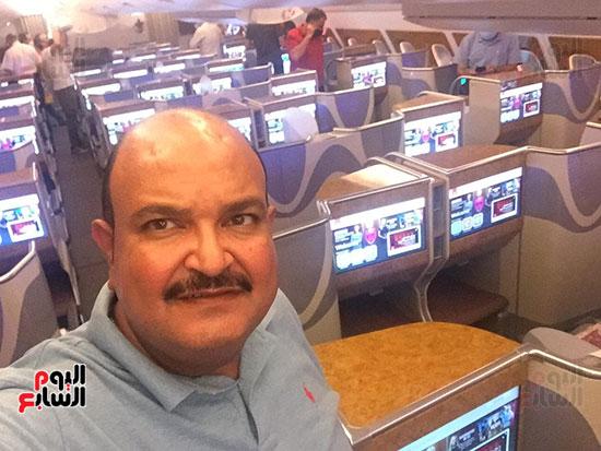 اليوم السابع على متن أكبر طائرة ركاب فى العالم (6)