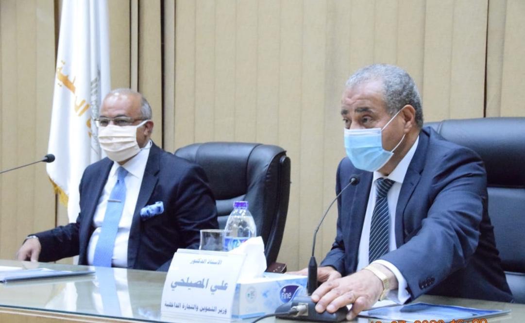 وزير التموين ومساعد أول الوزير  (4)