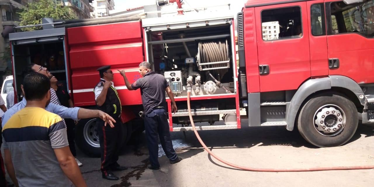 اخماد حريق بالوايلى (2)