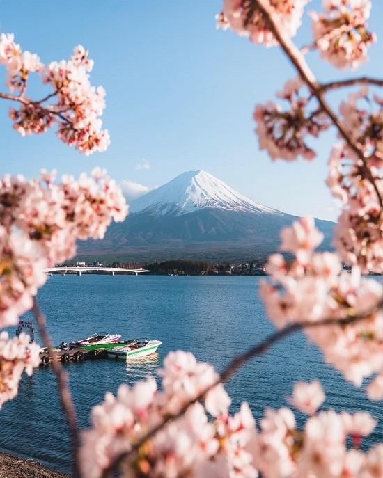 جبل فوجي (اليابان) على انستجرام