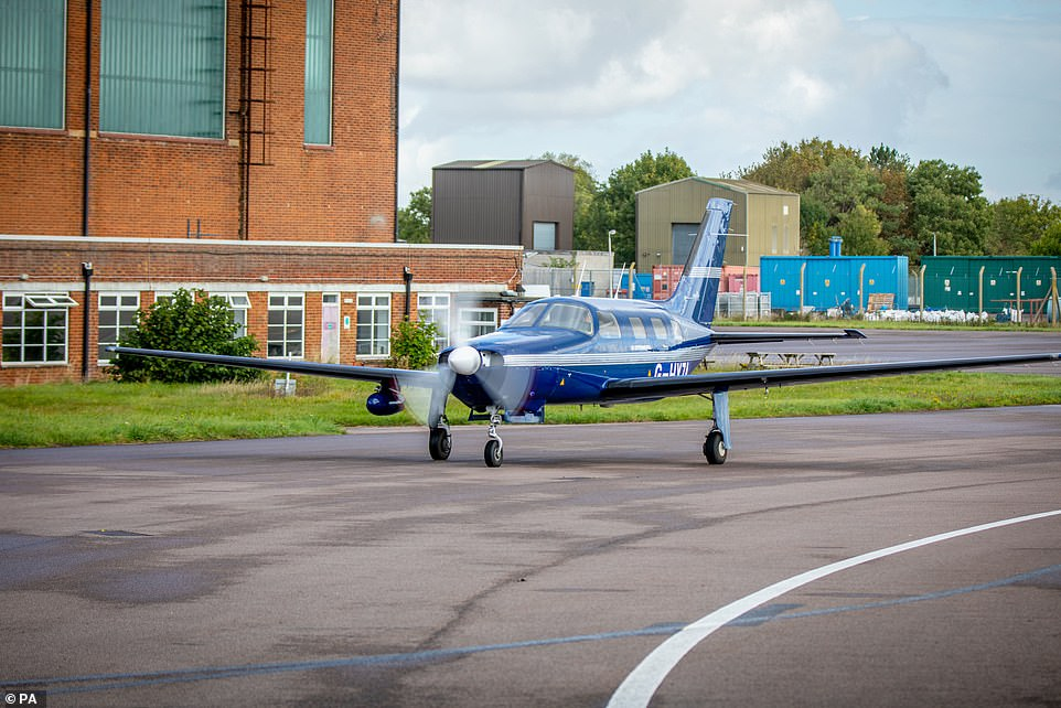 طائرة الهيدروجين