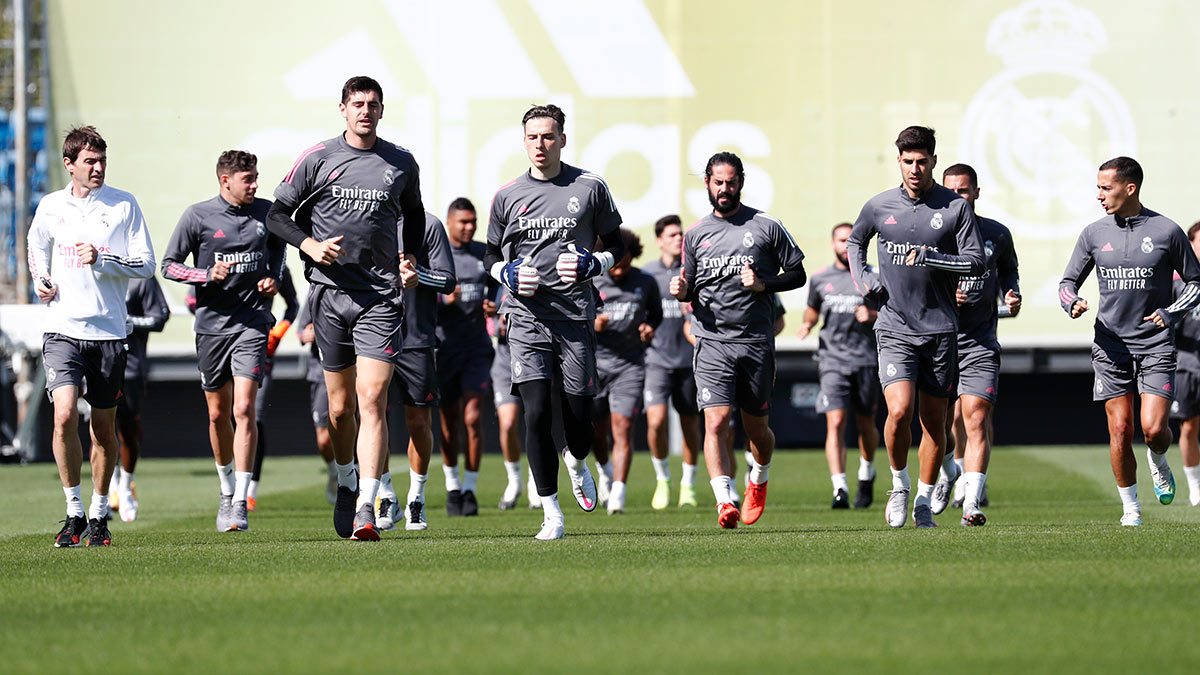 تدريبات ريال مدريد 4