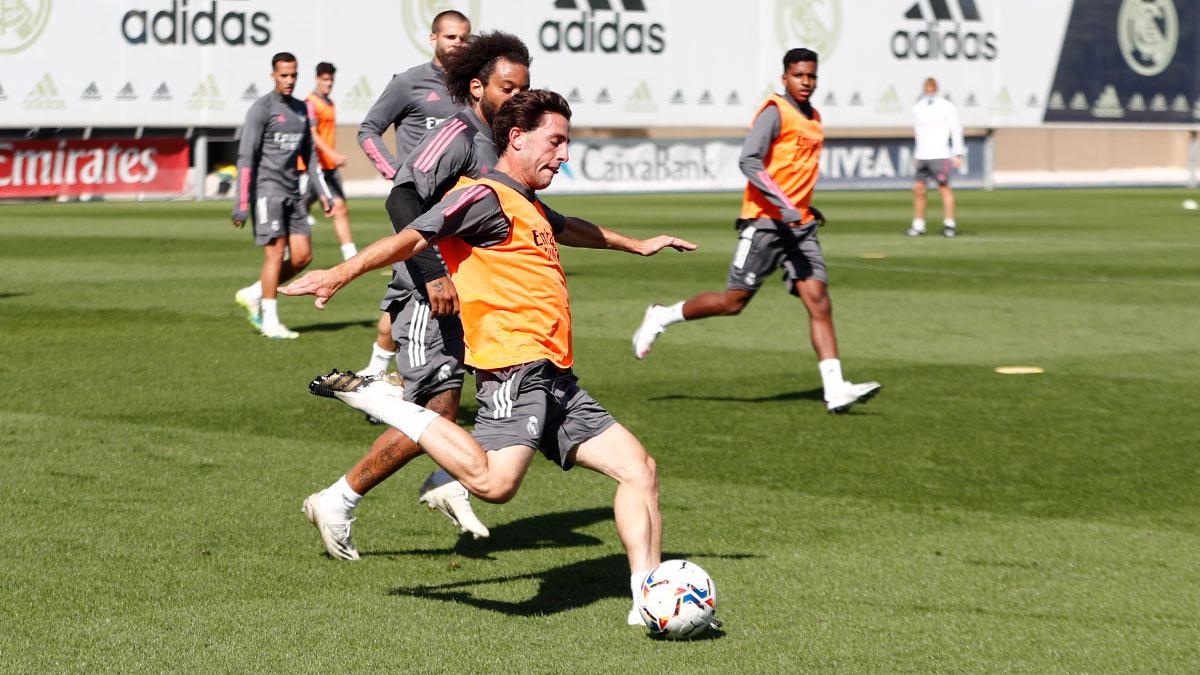 مارسيلو فى تدريبات ريال مدريد