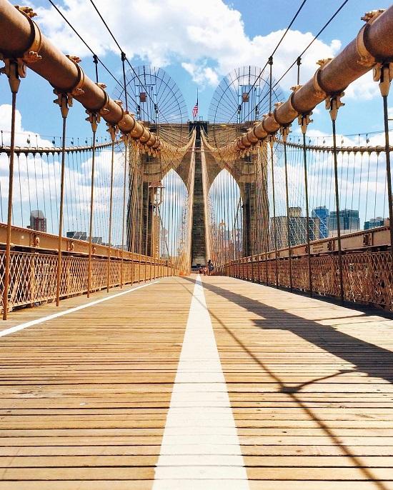 جسر بروكلين (نيويورك) على انستجرام