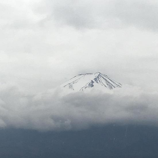 جبل فوجي (اليابان) في الواقع