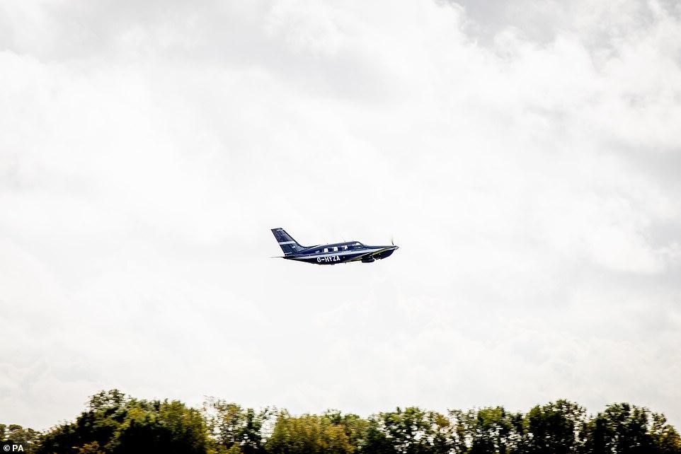 طائرة الهيدروجين فى السماء