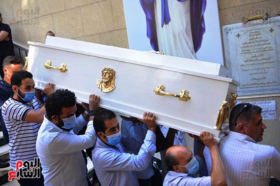 تشييع جثمان المنتصر بالله من كنيسة ابو سيفين بالمهندسين (4)