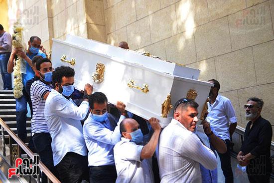 تشييع جثمان المنتصر بالله من كنيسة ابو سيفين بالمهندسين (3)