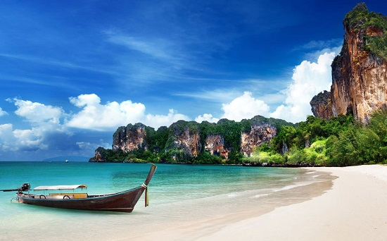 شاطئ رايلي (كرابي ، تايلند) على انستجرام