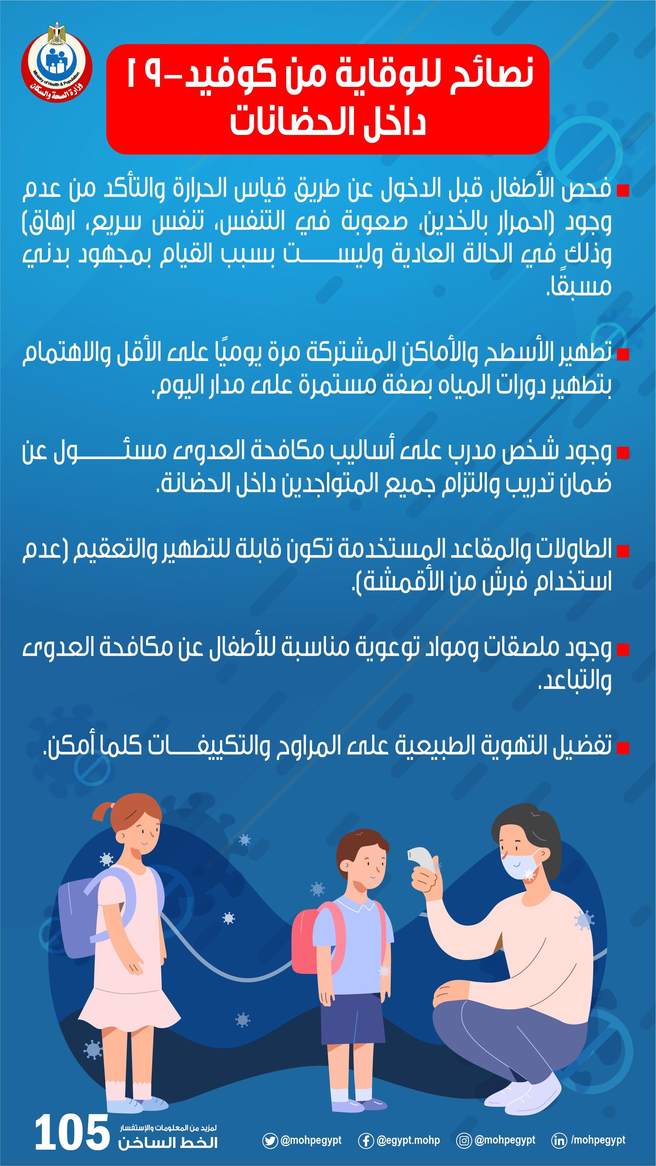 وزارة الصحة على تويتر