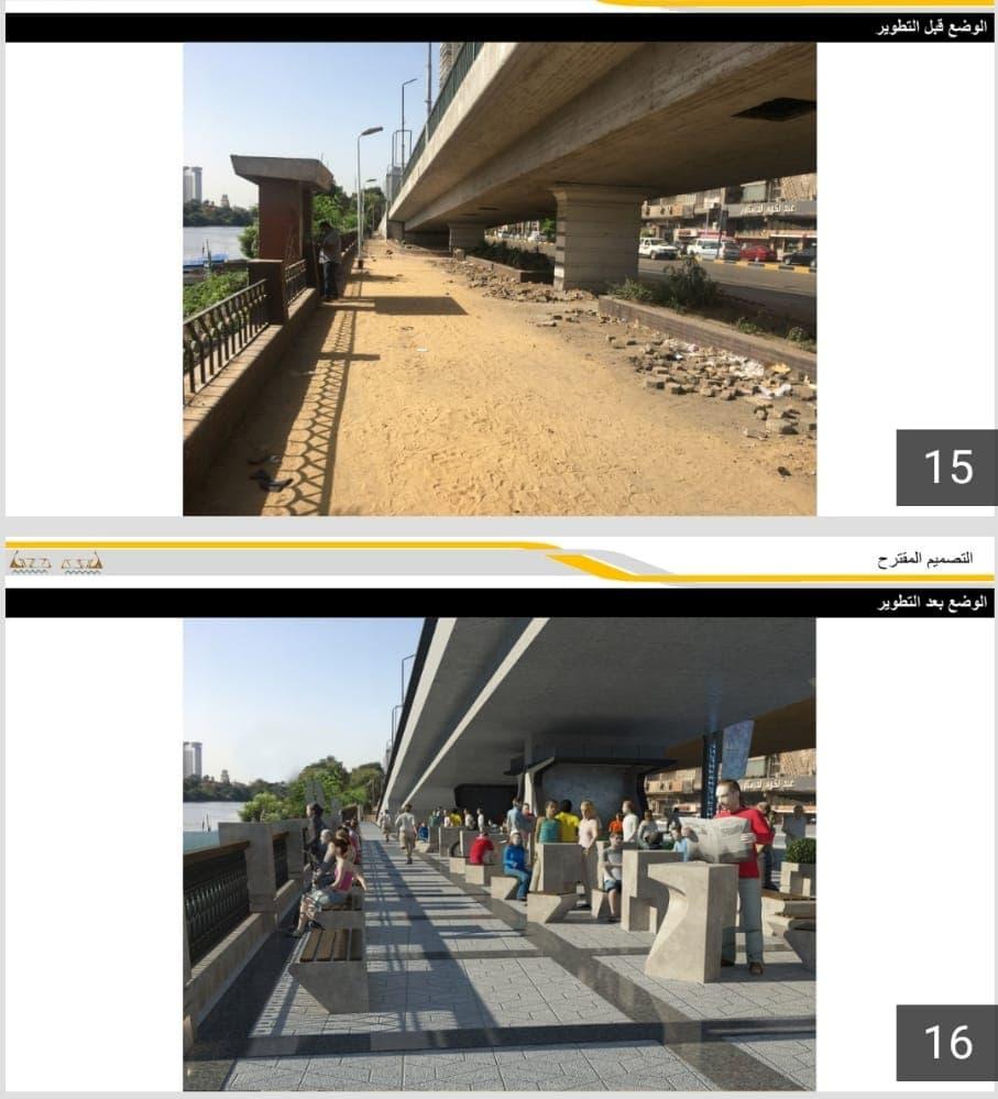 شارع النيل بالجيزة ومخطط التطوير (3)