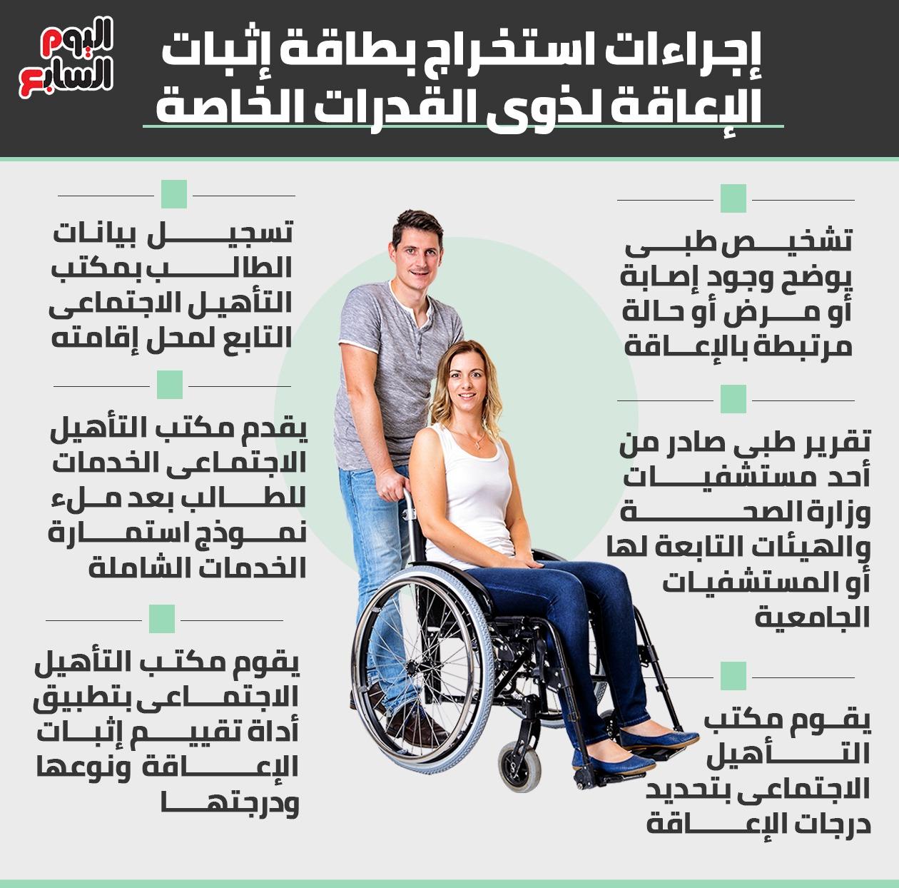 إنفو استخراج بطاقة إثبات الإعاقة