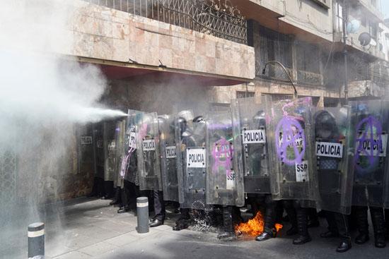قوات الأمن بالمكسيك