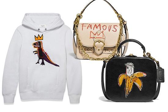 مجموعة Coach X Jean-Michel Basquiat