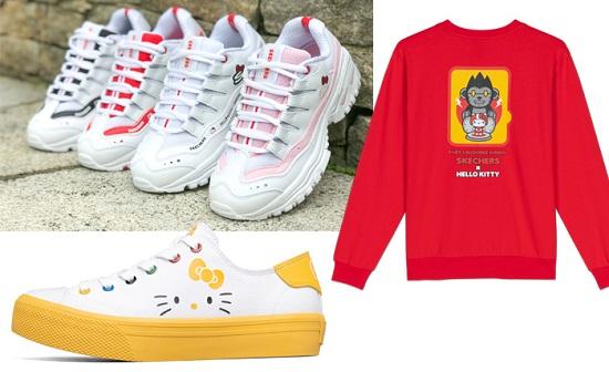 مجموعة Skechers X Hello Kitty