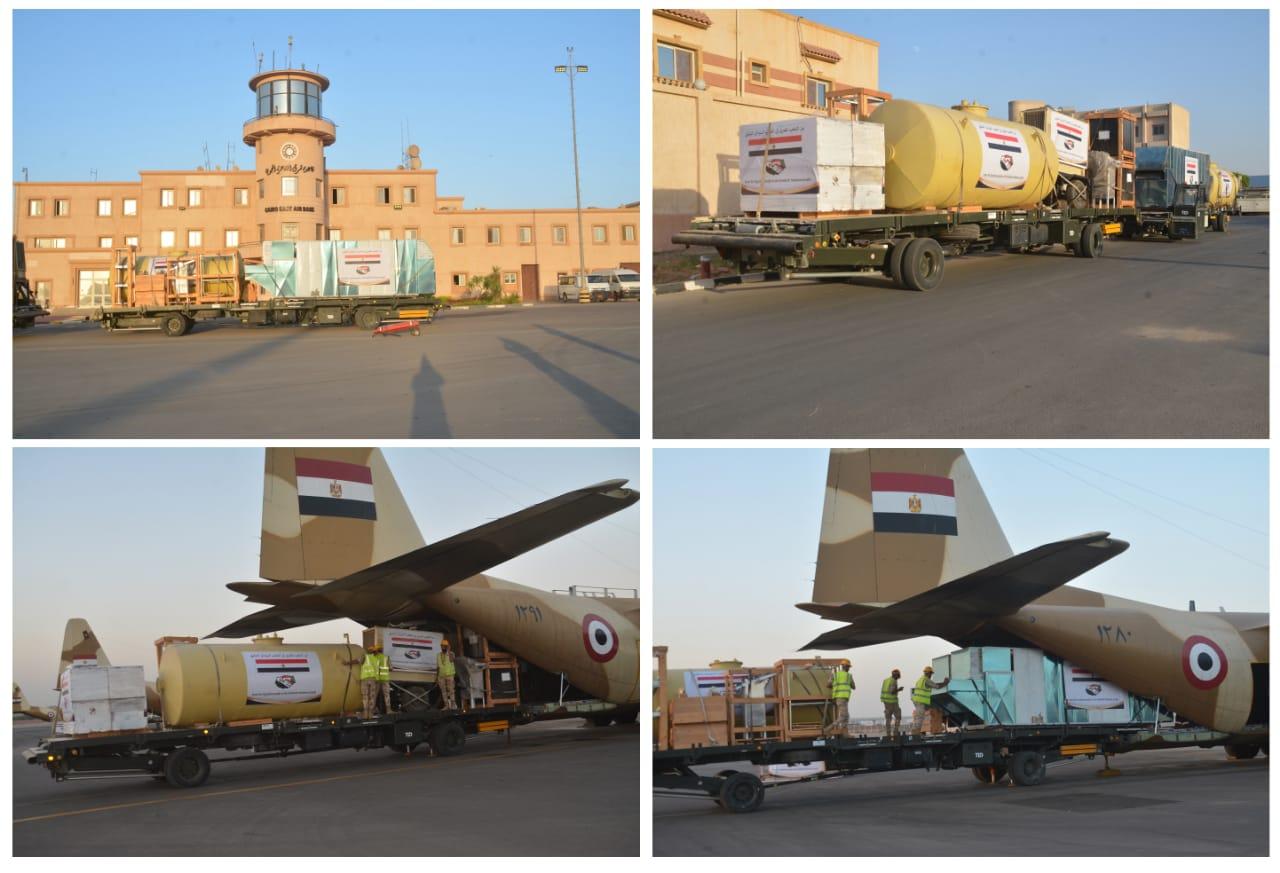 خطوط إنتاج الخبز الميدانية للأشقاء بجمهورية السودان