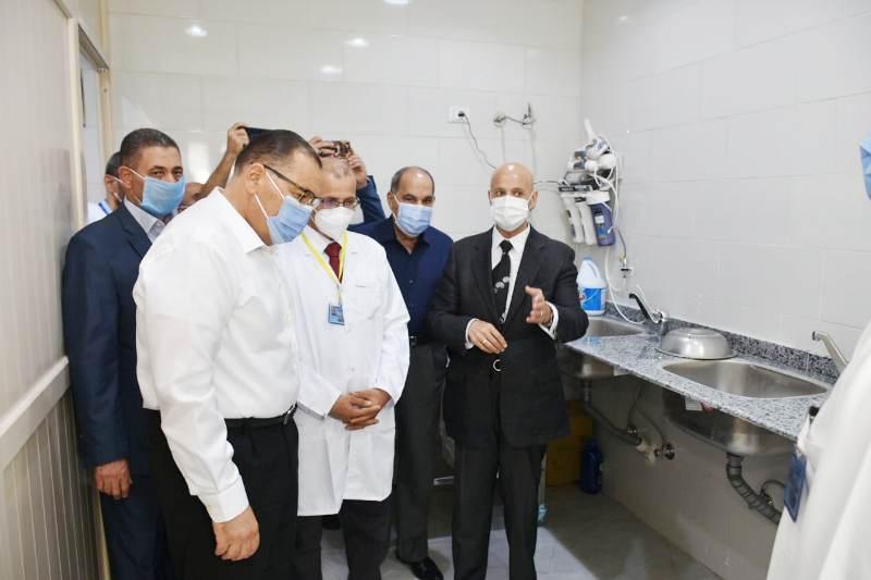 تطوير مستشفى ههيا اافتتاح