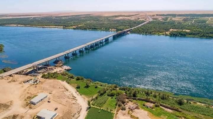 مشروع محور كلابشة فوق النيل بأسوان (5)