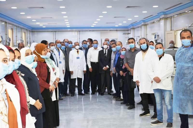13مستشفى ههيا اافتتاح