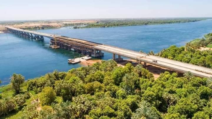 مشروع محور كلابشة فوق النيل بأسوان (14)