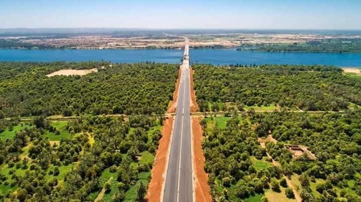 مشروع محور كلابشة فوق النيل بأسوان (7)