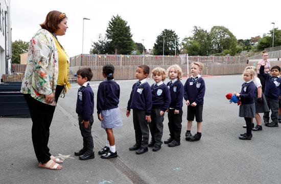 عودة المدارس بجميع المراحل السنية فى بريطانيا
