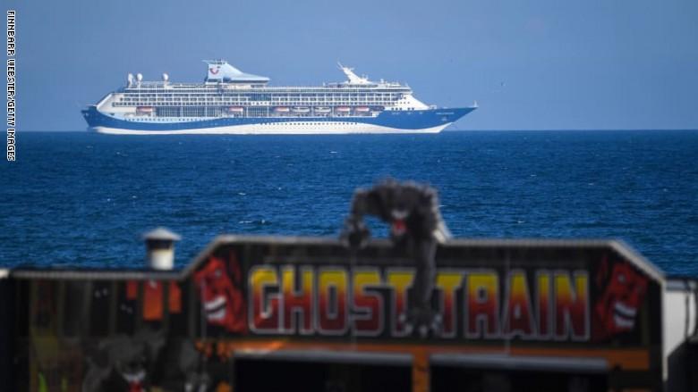 كورونا ساهم فى وقف أنشطة الرحلات السياحية لسفن بريطانيا العملاقة