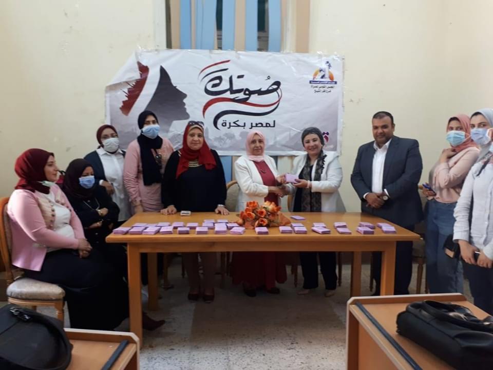 مجهودات فرع المجلس القومي للمرأة فى كفر الشيخ (7)