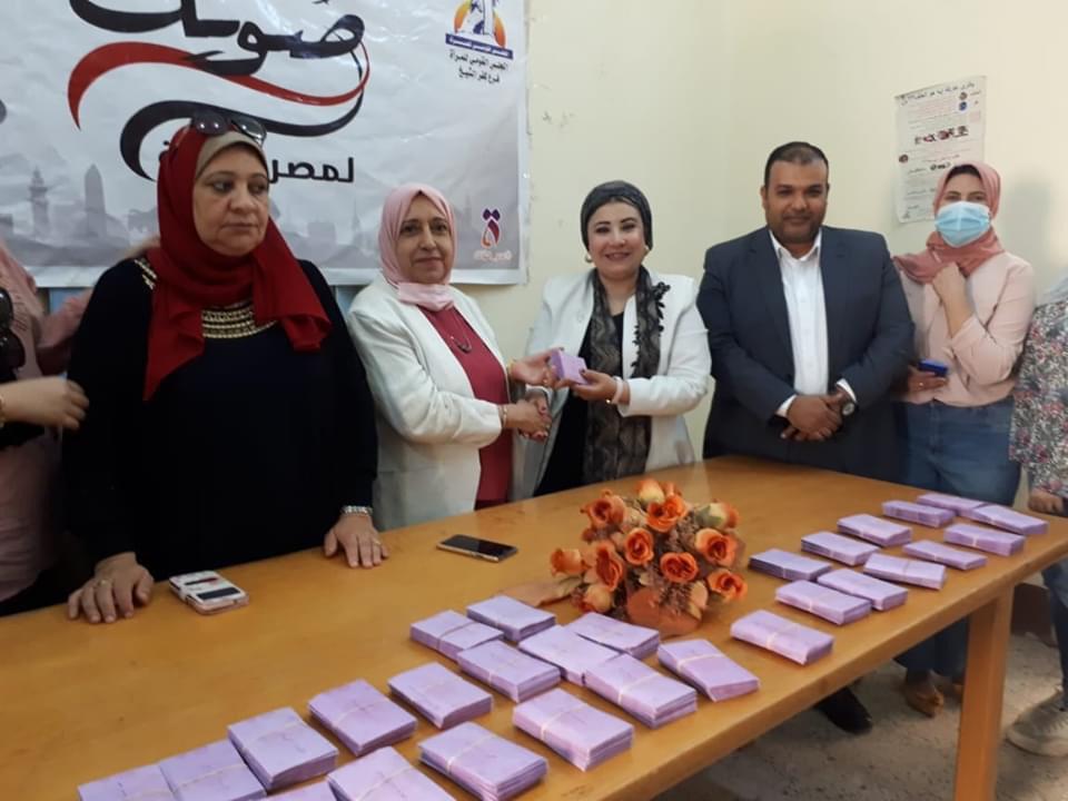 مجهودات فرع المجلس القومي للمرأة فى كفر الشيخ (8)