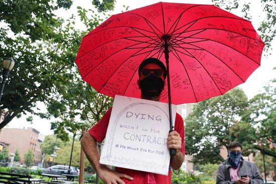 مظاهرات نيويورك